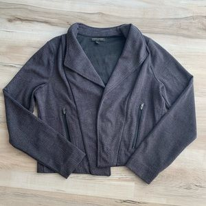 Banana Republic Cardigan Jacket Gray/Black Small
